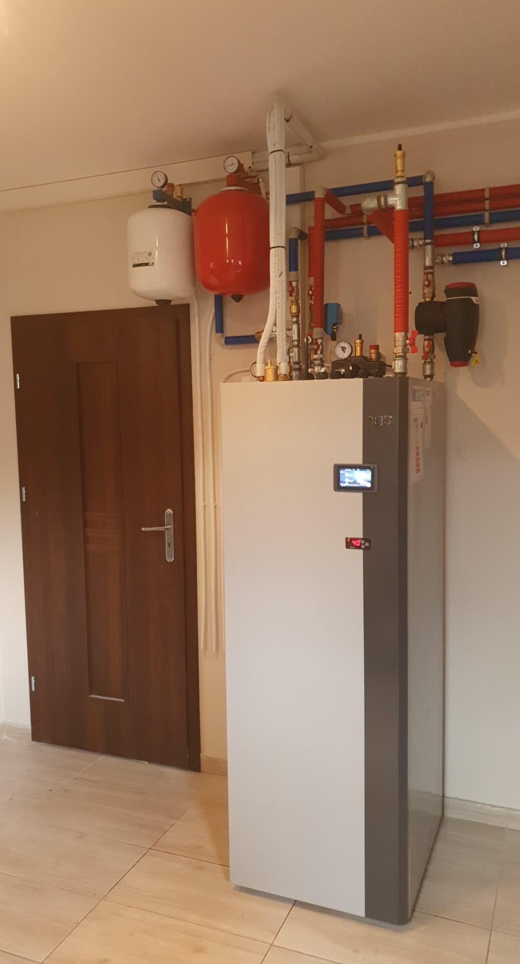 energy save / pompa ciepła ze zbiornikiem CWU 250 litrów